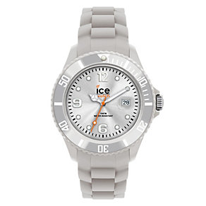 Ice-Watch Men's Grey Silicone Strap Watch - Product number 1233424