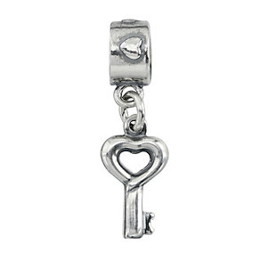 Charmed Memories Sterling Silver Dangle Key Charm - Product number 1237071