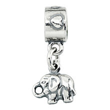 Charmed Memories Sterling Silver Elephant Charm - Product number 1237128