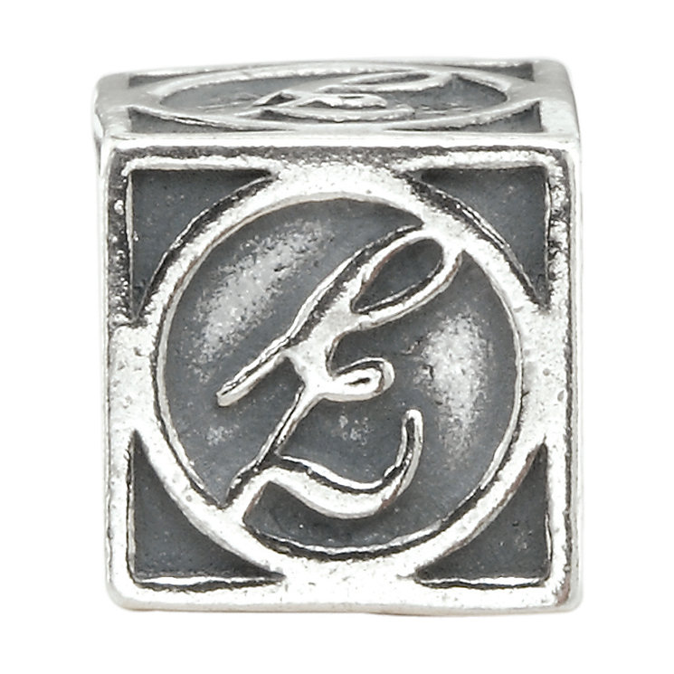 Charmed Memories Sterling Silver E Initial Bead - Product number 1238124
