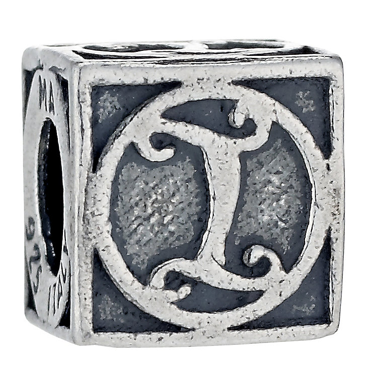Charmed Memories Sterling Silver L Initial Bead - Product number 1238191