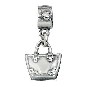 Charmed Memories Sterling Silver Handbag Charm Bead - Product number 1239392