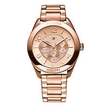 Tommy Hilfiger Ladies' Rose Gold-Plated Bracelet Watch - Product number 1248863