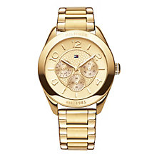 Tommy Hilfiger Ladies' Gold-Plated Bracelet Watch - Product number 1248944