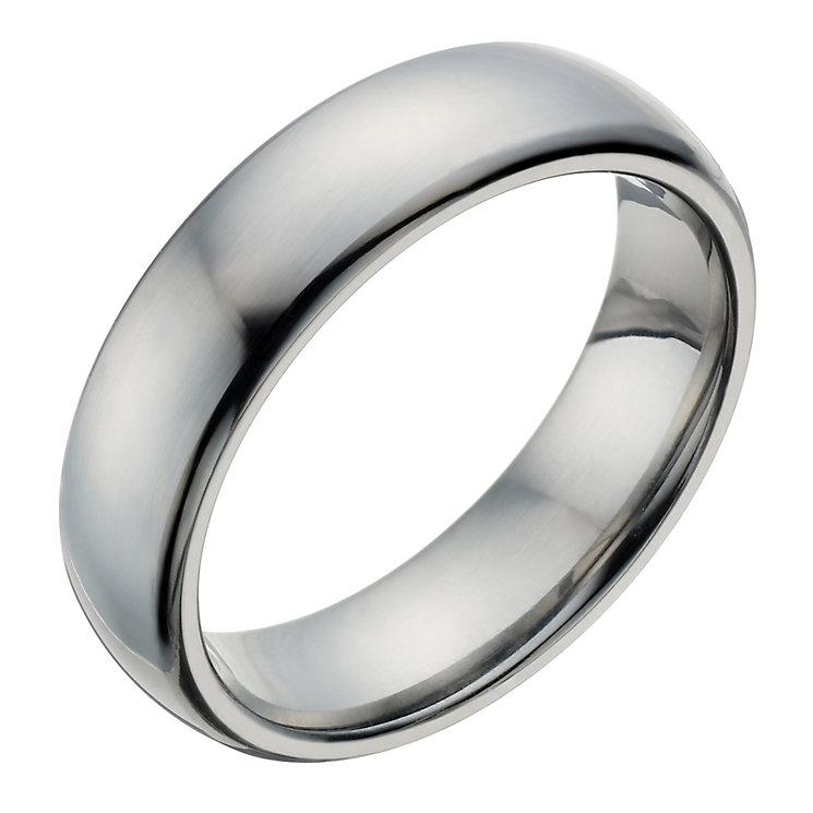 Titanium Men's Polished Ring - Product number 1273965