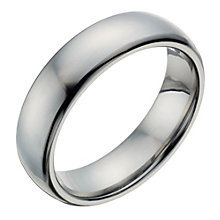 Titanium Men's Polished Ring - Product number 1273965