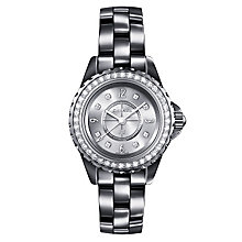 Chanel J12 Titanium Ceramic Bracelet Watch Diamond Set - Product number 1276875