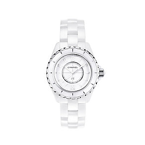 Chanel J12 Limited Edition White Ceramic Bracelet Watch - Product number 1277405
