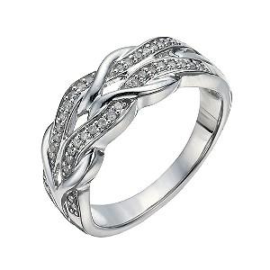 Thai Garnet Eternity Ring
