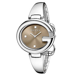 Gucci Guccisima ladies' large stainless steel bracelet watch - Product number 1279777