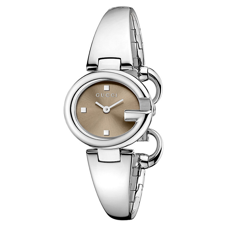 Gucci Guccisima ladies' small stainless steel bracelet watch - Product number 1280341