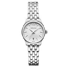 Hamilton Jazzmaster Ladies' stainless steel bracelet watch - Product number 1295543