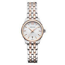 Hamilton Jazzmaster ladies' two colour bracelet watch - Product number 1295551