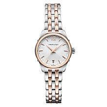 Hamilton Jazzmaster ladies' two colour bracelet watch - Product number 1295551