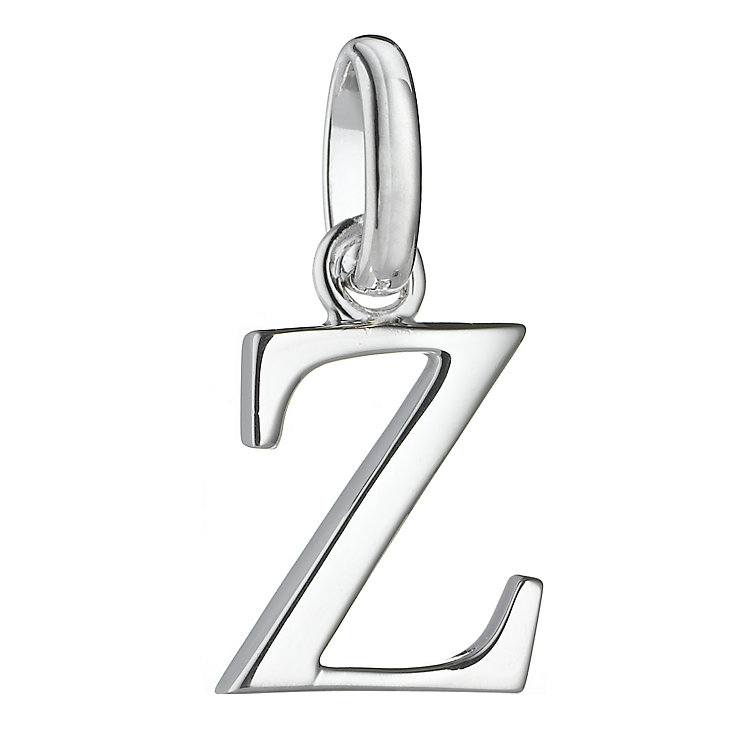 molly brown silver z initial charm h samuel the jeweller