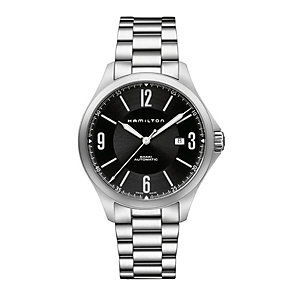 Hamilton Khaki Aviation men's stainless steel bracelet watch - Product number 1295918