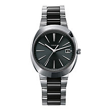 Rado men's stainless steel & black ceramic bracelet watch - Product number 1296892