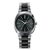 Rado men's stainless steel & black ceramic bracelet watch - Product number 1296892