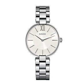 Rado Coupole ladies' stainless steel bracelet watch - Product number 1296906