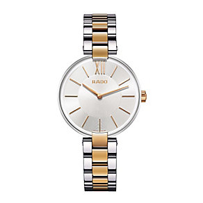 Rado ladies' two tone silver bracelet watch - Product number 1296914