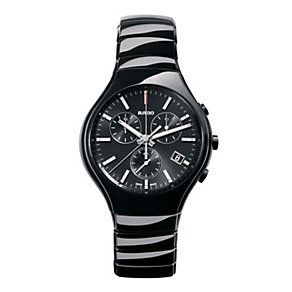 Rado True men's black ceramic bracelet watch - Product number 1296922