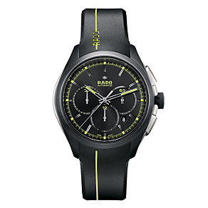 Rado Hyperchrome men's black rubber strap watch - Product number 1296949