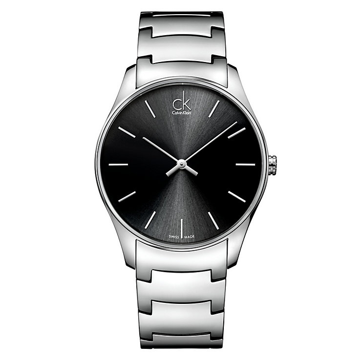 Calvin Klein Classic men's stainless steel bracelet watch - Product number 1297279