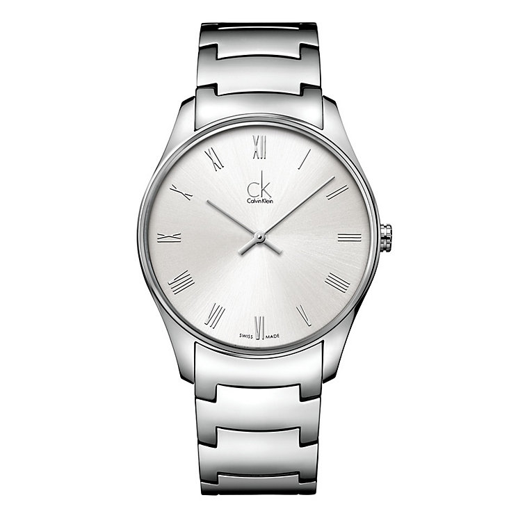 Calvin Klein Classic men's stainless steel bracelet watch - Product number 1297287