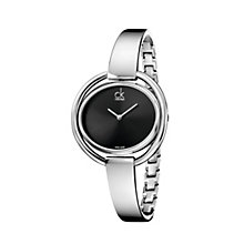 Calvin Klein Impetuous ladies' stainless steel bangle watch - Product number 1297619