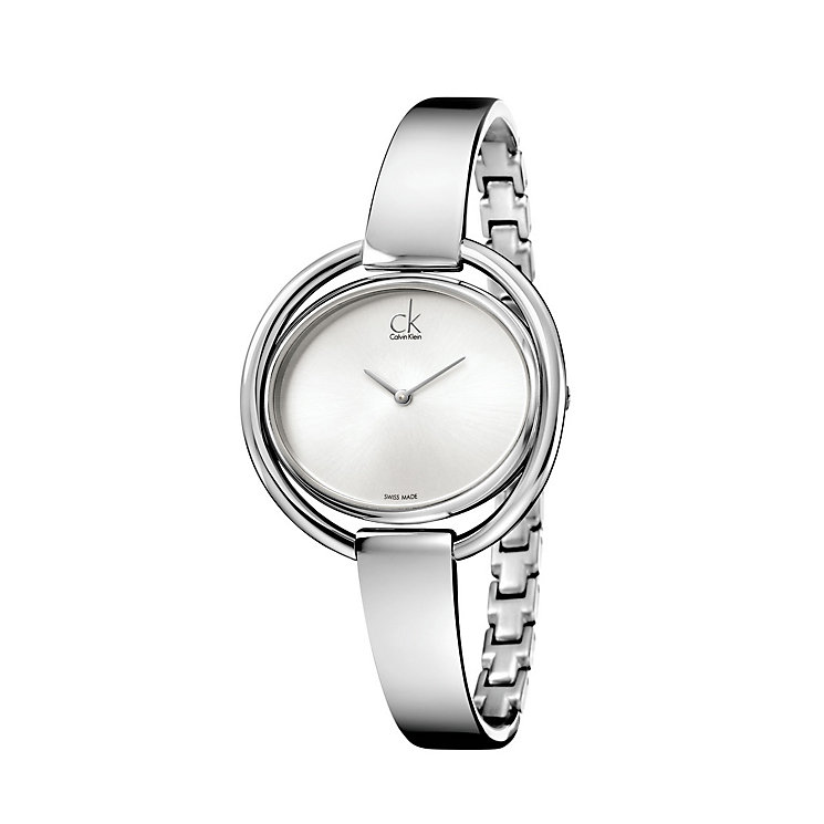 Calvin Klein Impetuous ladies' stainless steel bangle watch - Product number 1297635