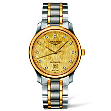 Longines Master Collection men's two colour bracelet watch - Product number 1297651
