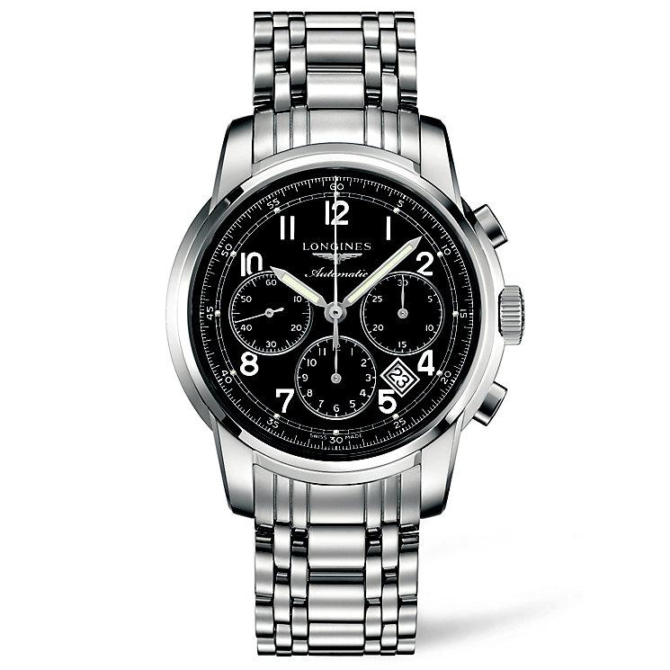 Longines Saint-Imier men's chronograph steel bracelet watch - Product number 1297716