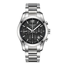 Longines Commonwealth men's stainless steel bracelet watch - Product number 1297783
