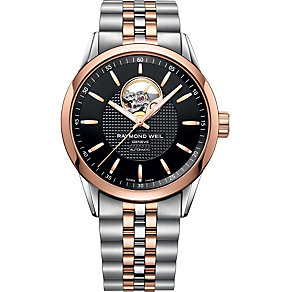 Raymond Weil Freelancer men's two colour bracelet watch - Product number 1297880