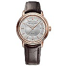 Raymond Weil men's rose gold-plated brown strap watch - Product number 1297899