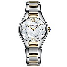 Raymond Weil ladies' diamond two colour bracelet watch - Product number 1297996