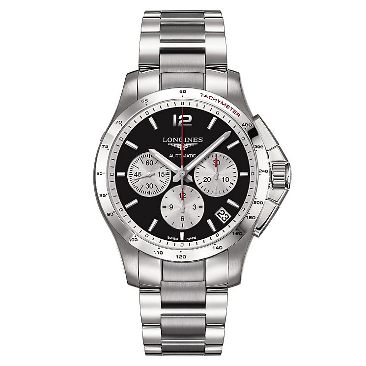 Longines Conquest men's stainless steel bracelet watch - Product number 1298003