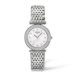 Longines La Grande Classique ladies' diamond bracelet watch - Product number 1298046