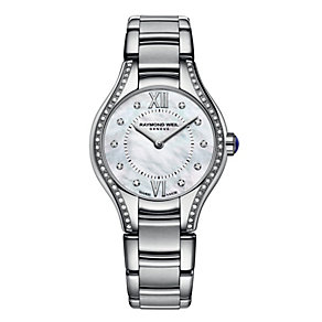 Raymond Weil ladies' diamond stainless steel bracelet watch - Product number 1298062