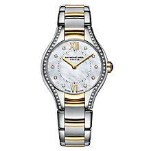 Raymond Weil ladies' diamond two colour bracelet watch - Product number 1298119
