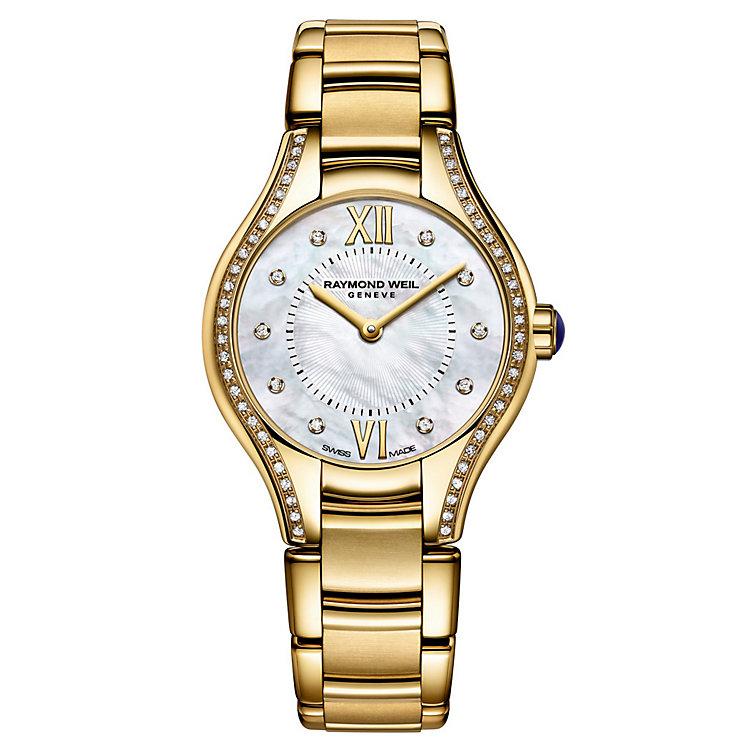 Raymond Weil Noemia ladies' diamond set bracelet watch - Product number 1298151
