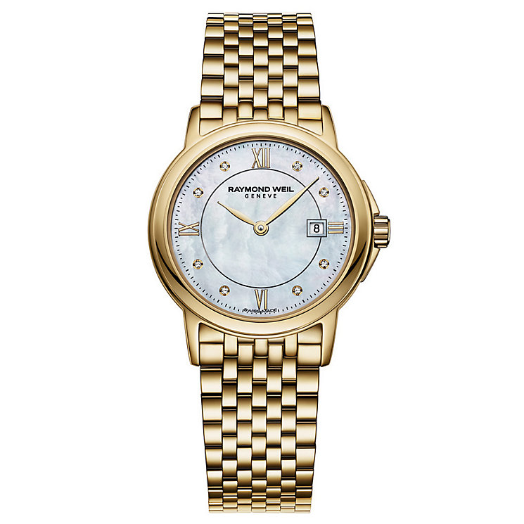 Raymond Weil ladies' diamond gold-plated bracelet watch - Product number 1298224