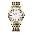 Raymond Weil Tradition men's gold-plated bracelet watch - Product number 1298267