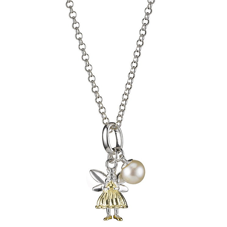 Molly Brown Aurora Sterling Silver & Gold Tone Fairy Pendant - Product number 1298429