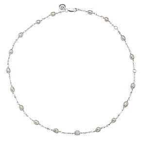 "Molly Brown Sterling Silver 16"" Freshwater Pearl Necklace - Product number 1298585"