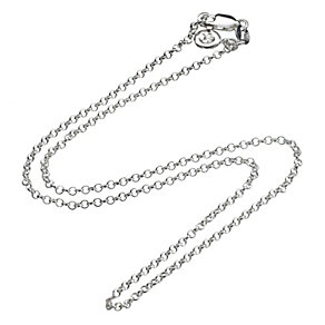 Molly Brown Sterling Silver Adjustable Chain Necklace - Product number 1298593