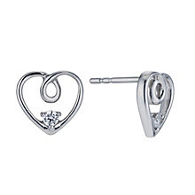 Silver 1/10 Carat Forever Diamond Earrings - Product number 1299484