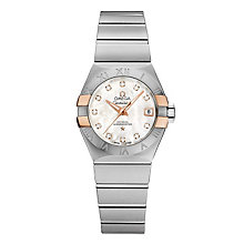 Omega Constellation ladies' two colour diamond watch - Product number 1300946