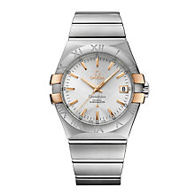 Omega Constellation men's two colour bracelet watch - Product number 1300954