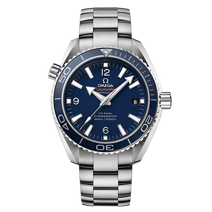 Omega Seamaster Planet Ocean men's titanium bracelet watch - Product number 1300997